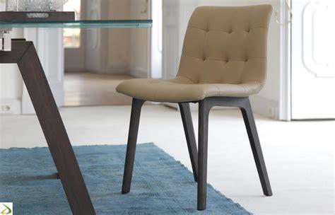 sedute design sedia design imbottita kuga di bontempi arredo design