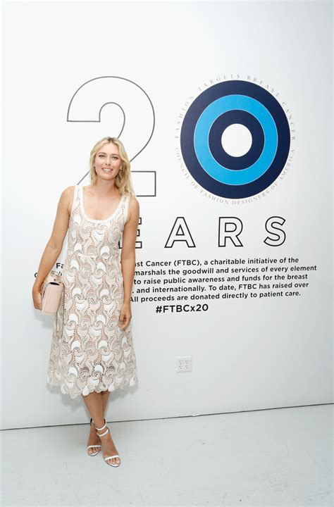 Fab Site Fashion Targets Breast Cancer by Sharapova 2014 Fashion Targets Breast Cancer Event