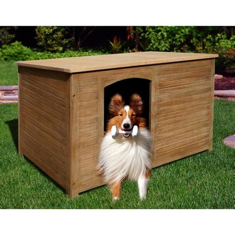 Outdoor Wood Dog House 232003 Patio Furniture At Outdoor Furniture For Dogs