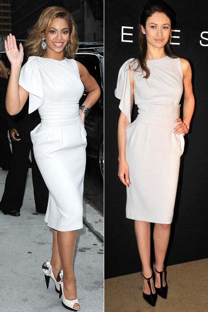 Who Wore Elie Saab Better Solange Knowles Or Dita Teese by Who Wore It Best Beyonce Vs Olga