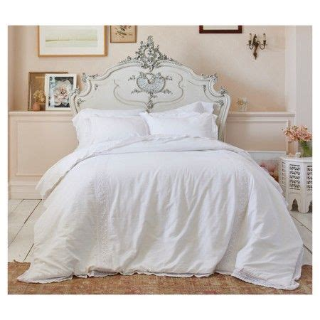 top 28 simply shabby chic linen cotton blend comforter set white bohemian embroidered duvet