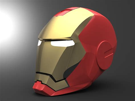 iron man helmet design iron man helmet update studentrender