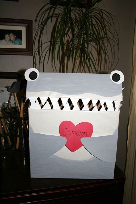 valentines boxes for school s day box shark style to hold the s