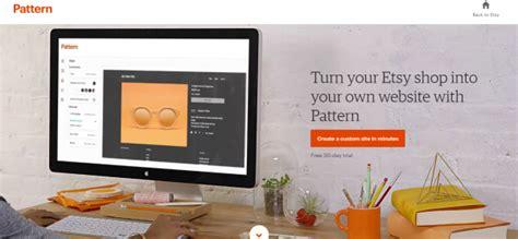 pattern site etsy new etsy pattern vs squarespace website builder