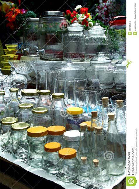 Sell Home Decor Products Glassware Sold At A Store In Dapitan Arcade In Manila Philippines Stock Photo Image 55801554