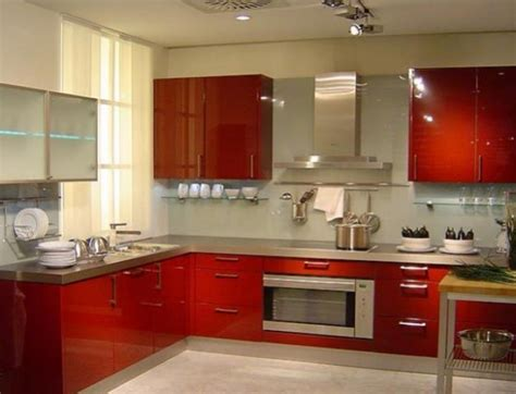 Interior Designs Of Kitchen Modern Indian Kitchen Interior Design