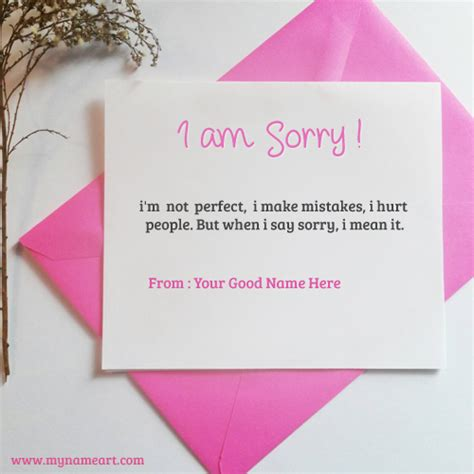 how to make sorry cards create a sorry card