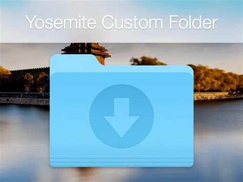 Yosemite Icon Template