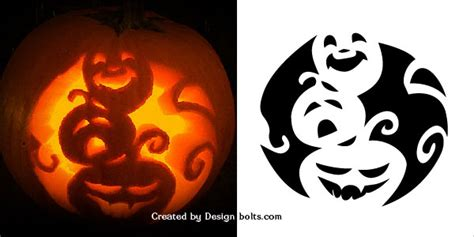 spooky tree pumpkin template 10 free scary pumpkin carving patterns stencils