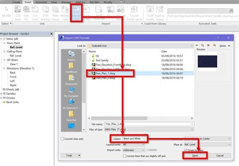 revit tutorial creating families create scalable revit trees with custom plan and elevation