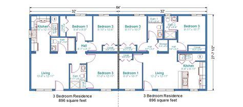 duplex floor plans 3 bedroom