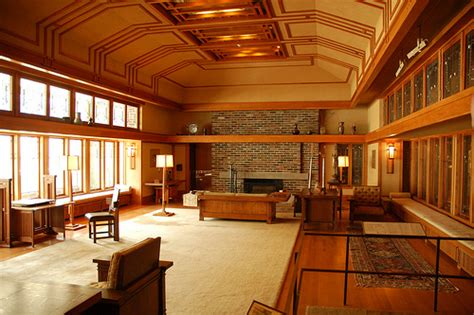 Frank Lloyd Wright Home Interiors Photo