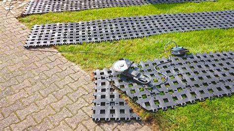 Rasengittersteine Kunststoff Verlegen 2321 by Kunststoff Rasengittersteine Ohne Unterbau Direkt Auf Den