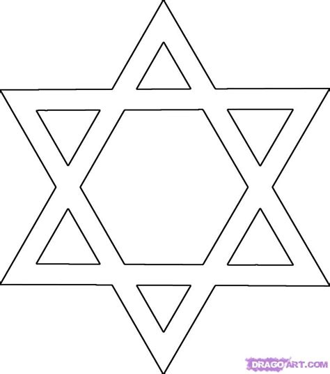 pattern for drawing a star how to draw the star of david star of bethlehem step by