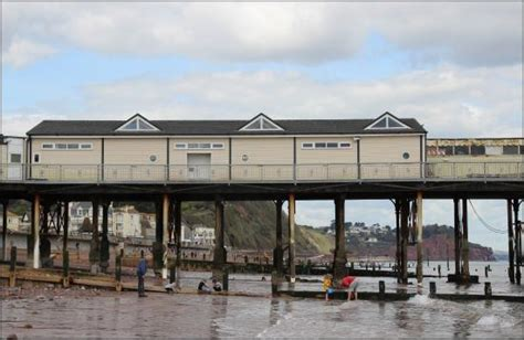 pier sections teignmouth pier amusement section picture of grand pier