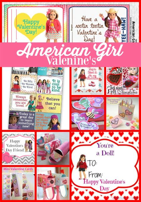 Where Can I Find American Girl Gift Cards - love these american girl valentine s day ideas