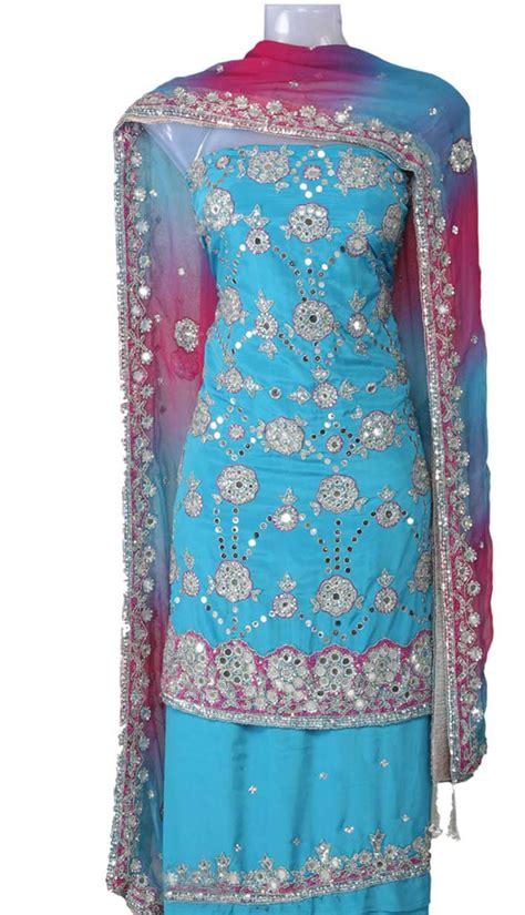 unstitched salwar suits online salwar suits neck designs 2014 for wedding photos pics