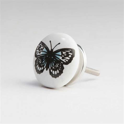 Butterfly Door Knobs by Butterfly Ceramic Door Knob Knobs Homeware