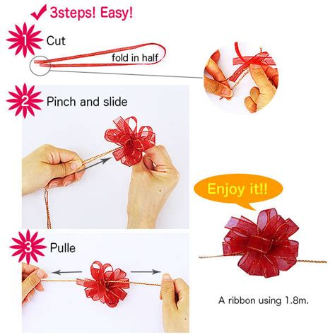 how to tie a bow with ribbon on gift bag howsto co