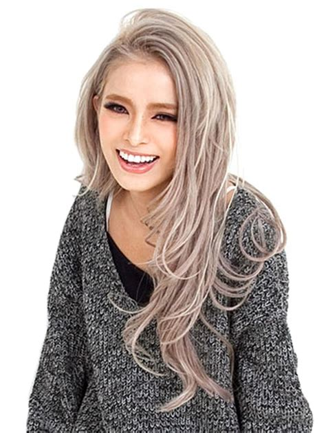 silver blonde haircolor mega blondes mb8 cool ash blonde permanent hair color