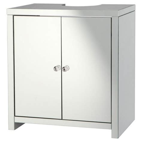 mirrored bathroom vanity units buy tesco mirrored under sink vanity unit from our