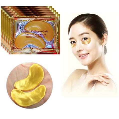 Collagen Gold Eye Mask 40 pcs 24k gold collagen eye mask circle eye