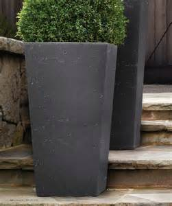 these restoration hardware planters artsy outdoor living