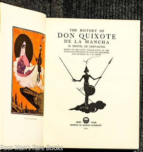 Don Quixote Essay by Discounted Out Of Print Obscure And Used Book Bookstore