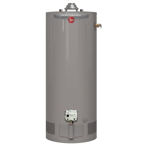 rheem rheem performance 50 gallon gas water heater with 6