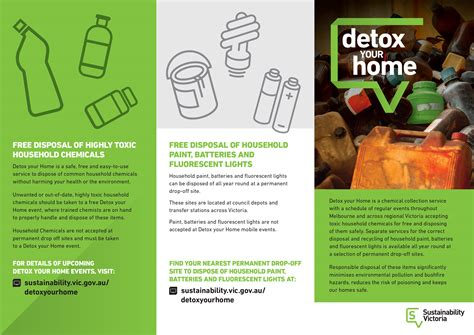 Detox Your Home Program by Detox Your Home Gannawarra Shire Council
