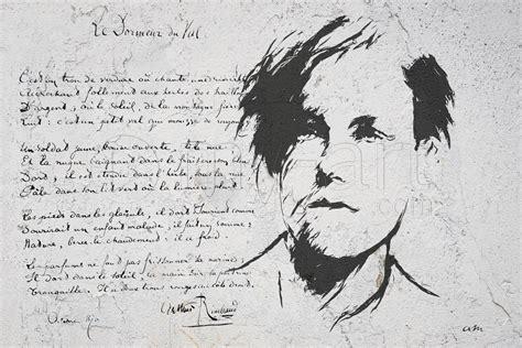 Le Dormeur Du Val Tableau by Tableau Autre Portrait Arthur Rimbaud Le