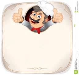 blank menu with cook stock images image 20048064