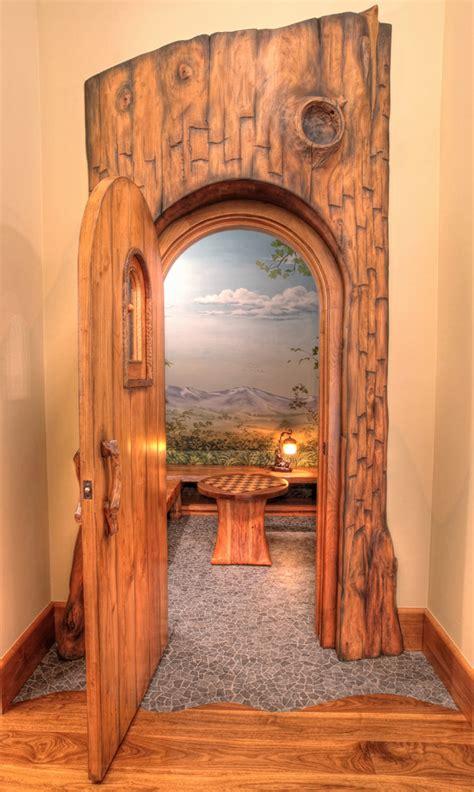 rustic hall bench dazzling hall tree storage bench in kids rustic with hobbit door next to hobbit house