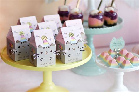Open Shower Ideas pusheen birthday pawty oh it s perfect