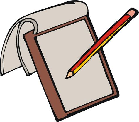 Drawing Clipart by Top Of Pen Writing On Paper Clipart Letter Master