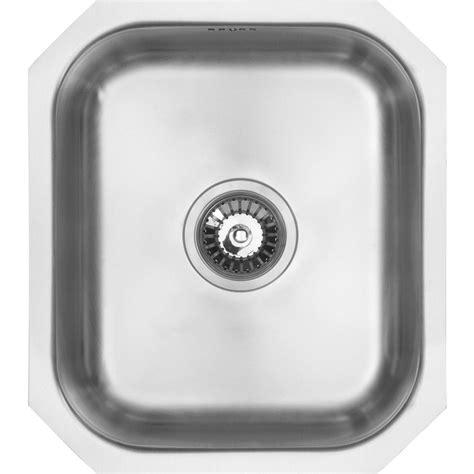 undermount single bowl kitchen sink 460 x 400 x 185mm