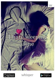 Sleeping Alone Meme - hate sleeping alone