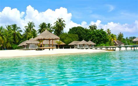 maldives resort wallpaper  wallpapersafari