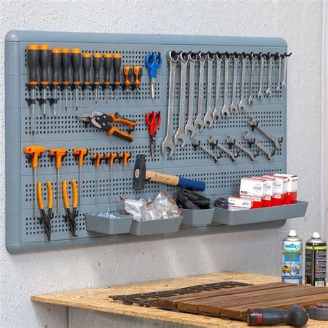 pannelli porta attrezzi parete porta attrezzi da appendere modulare 60x60cm