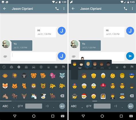 emoji nougat the best new features in android 7 0 nougat greenbot