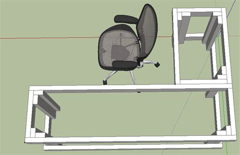 Computer Desk Plans Diy Die Besten 25 Diy L Shaped Desk Ideen Auf Craft Room Storage Shanty 2 Chic Und Diy