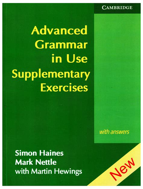 advanced grammar in use advanced grammar in use supplementary exercises english 01 edition buy advanced grammar in