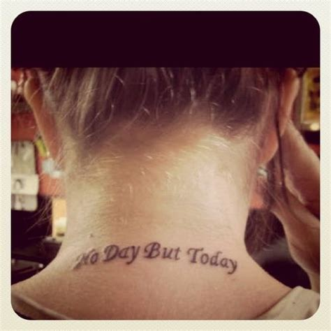 rent tattoos rent no day but today the quote not the