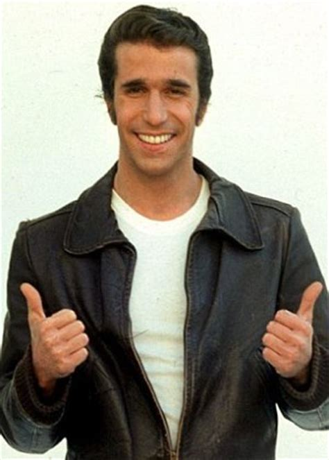 the fonz hairstyle arthur fonzarelli the all and the every