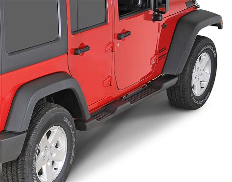 side step for jeep wrangler mopar 174 82210571ad factory style side steps for 07 17 jeep