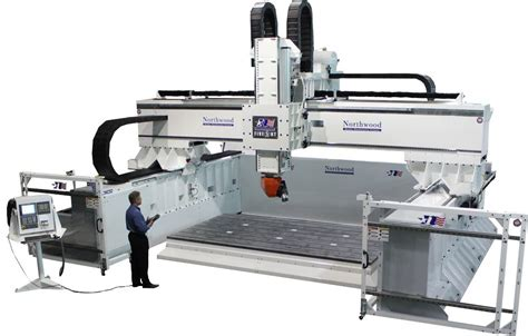 Northwood Machine 5 Axis Moving Gantry Machining Centers