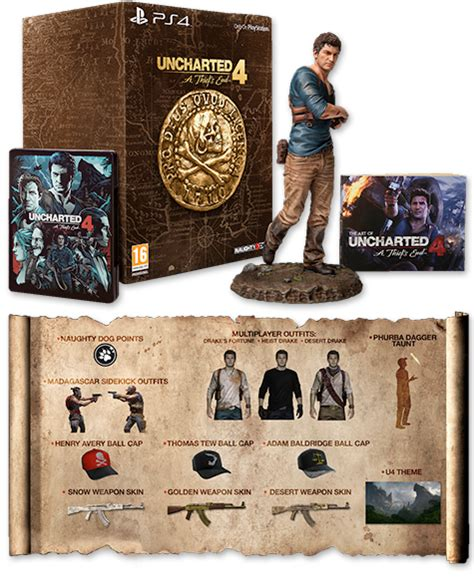 Unchartes 4 A Thiefs End Ps4 uncharted 4 a thiefs end collectors edition ps4 konsolinet