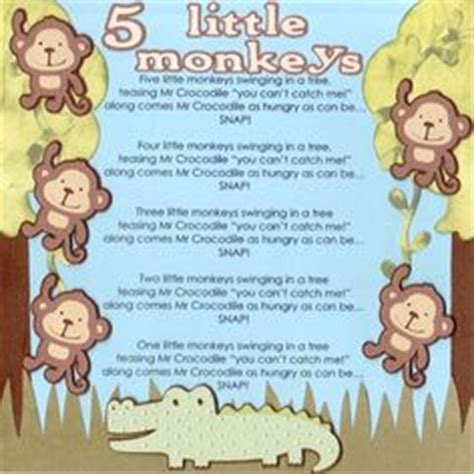 5 little monkeys swinging in a tree lyrics five little monkeys nursery rhyme with a fine motor twist