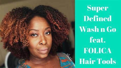 wash and go hair fat women super defined wash n go w a diffuser feat folica hair
