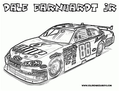 coloring pages of stock cars get this nascar coloring pages printable for boys 73184